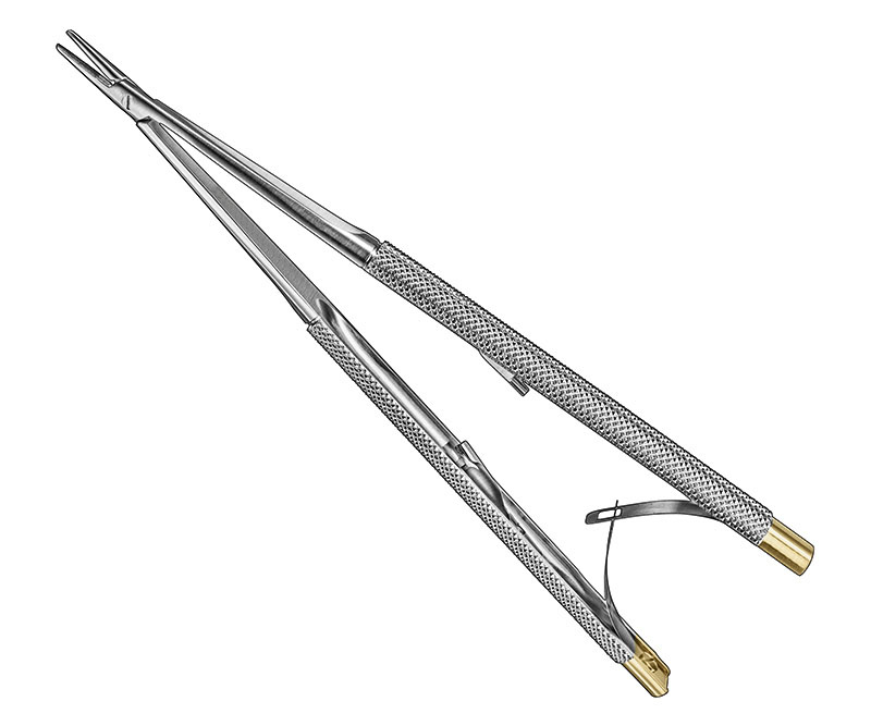 CASTROVIEJO, micro needle holder Manufacturers, Exporters, Sialkot, Pakistan